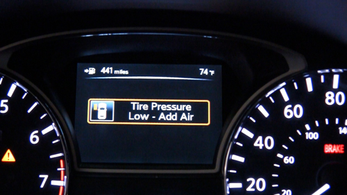 Tire Pressure Low